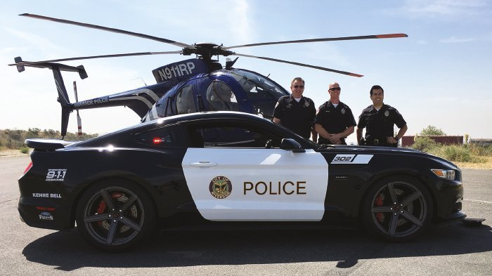 Saleen Automotive Delivers 730HP Saleen Mustang Police Vehicle