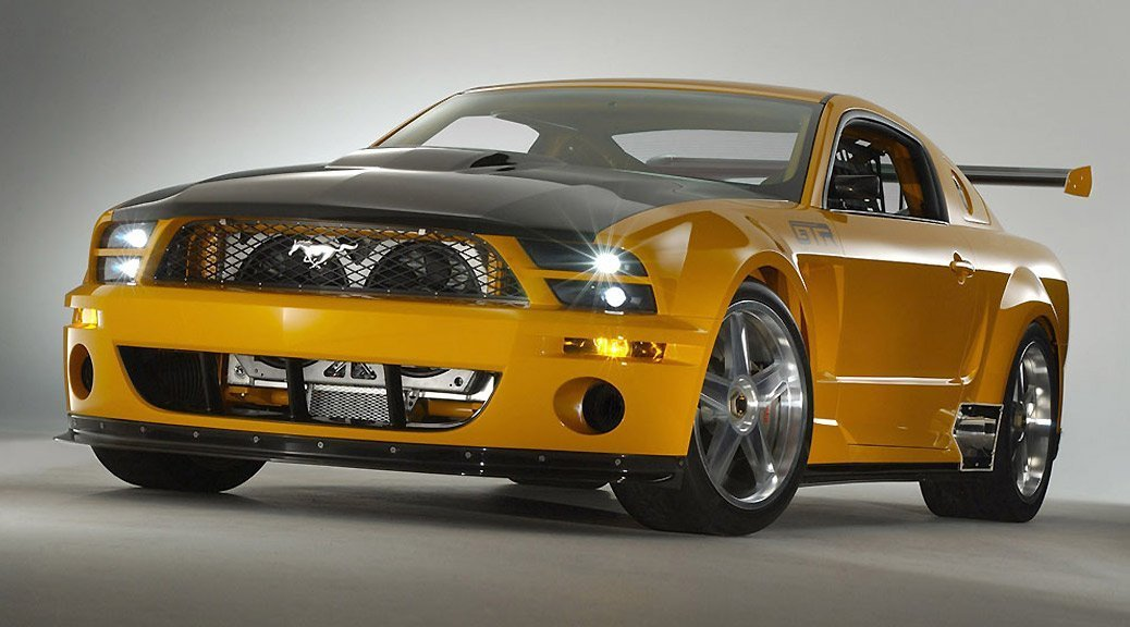 2004: Ford Mustang GT-R Concept | Saleen