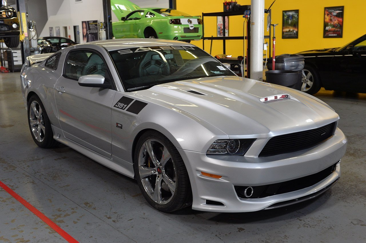 2012 release of the 2013 saleen 351 mustang