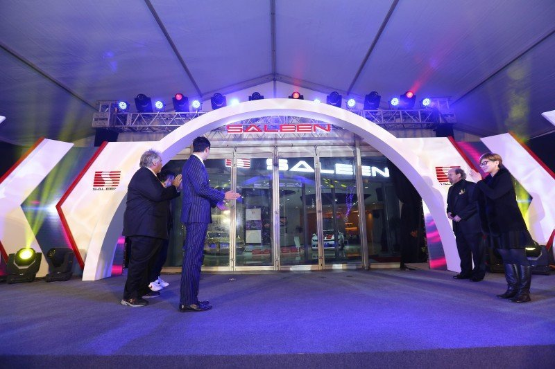 SALEEN BRAND OPENS FIRST SHOWROOM IN CHINA