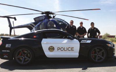 Saleen Automotive Delivers 730HP Saleen Mustang Police Vehicle