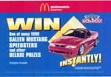 1997: Partnership with McDonald's