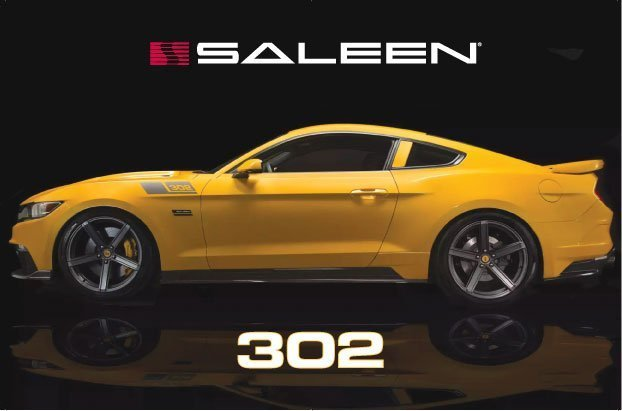 2015: Saleen debuts its all new S302 Black Label Mustang
